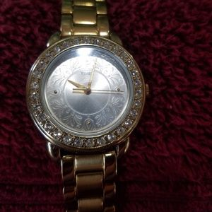 Timex Ladies Crystal Bezel Watch